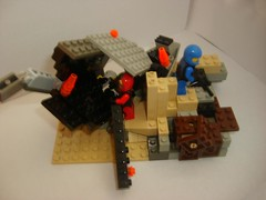 57_Swallow crash site (Alexander's Lego Gallery) Tags: shadow trooper pod marine jackal lego marathon space chief united ghost halo banshee drop troopers master human elite orbital shock hunter swallow bungie command prophet nations grunt spartan mongoose warthog covenant drone tiamat arbiter unsc odst