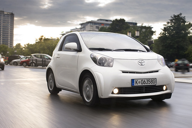 The revolutionary Toyota iQ, the world's smallest four-seater passenger car and just named 2008 Japan Car of the Year.