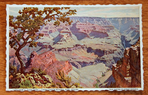 1941 Grand Canyon Postcard