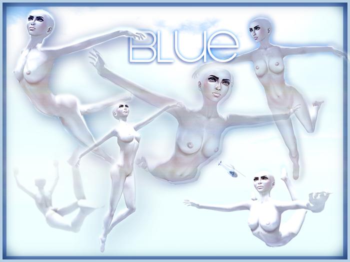 ..::DARE::.. Blue poses