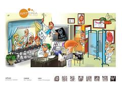 consultorio (eduardowestin) Tags: cartoon doctor medicine baguna medico cartum medicos arteria representante