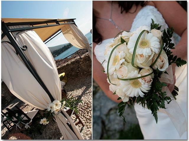Bridal Bouquet in Malcesine