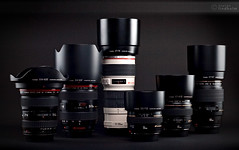 My Canon EF lenses