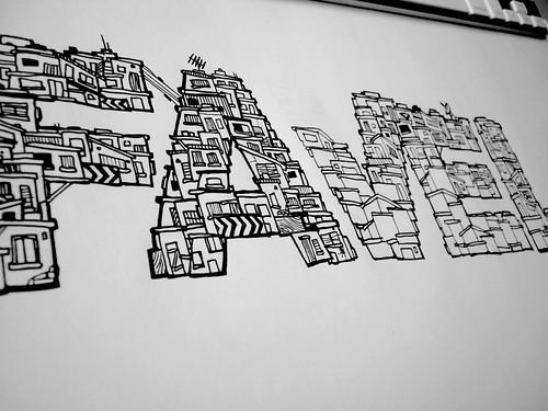 Favela fuente letra