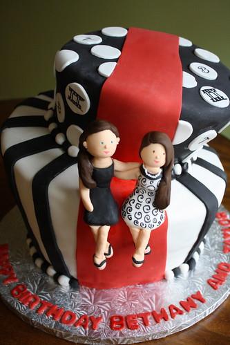Bakers Cakes Red Carpet Premier Birthday
