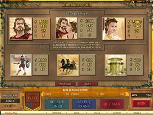 free Gladiator slot mini symbol