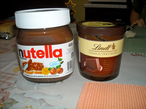 Nutella Vs Lindt A Photo On Flickriver