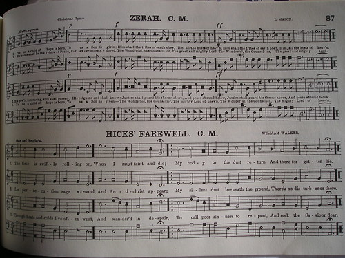 11:01 AM: Hicks's Farewell, the first song to use Hicks's poem