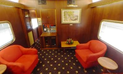 Rail Car - Chairman's Carriage, lounge - Australia