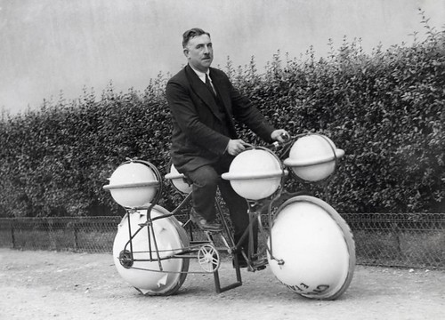 Amfibiefiets / Amphibious bycicle