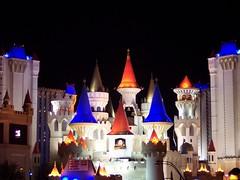 Excalibur, Las Vegas (hobbitbrain) Tags: night hotel lasvegas casino thestrip excaliber