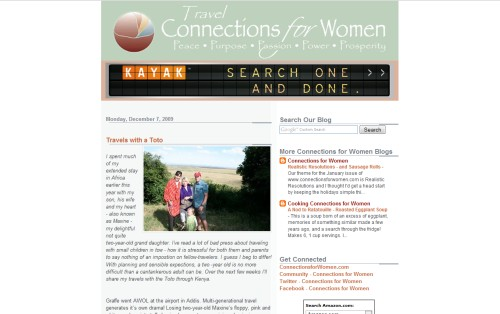 Travel - Connections for Women