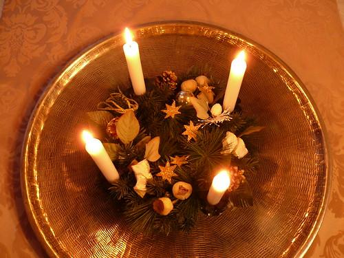 Advent: Vierte Kerze brennt