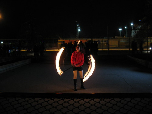 Playing with Fire in Alexandra Park (2)