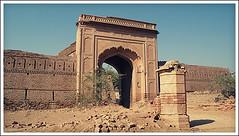 Main Entrance (fahimzahid) Tags: pakistan fort cholistan bahawalpur derawar