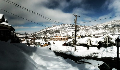 Panorama: Park City on a clear day #sundance