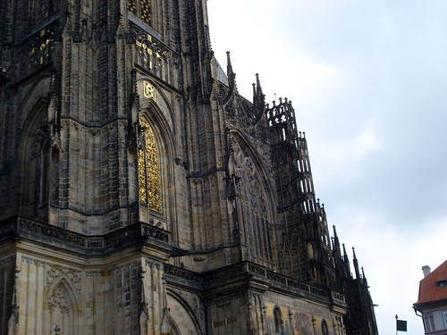 St. Vitus Cathedral detail