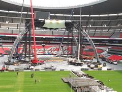 Quinto día de montaje - Estadio Azteca 38