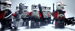 Yankee Company (jestin pern) Tags: fiction trooper star lego space 7 science 71 company corps mission fi wars squad clone yankee sci gand legion crusaders 457th 707th