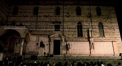 Italy, PERUGIA VIDEO MAPPING INSTALLATION by Philipp Geist + Music by Nocci  05/2011 on Vimeo by Philipp Geist | Videogeist