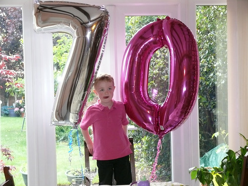 70th: Balloons and the Boy