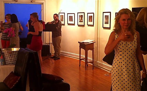 chestnut hill gallery artists opening
