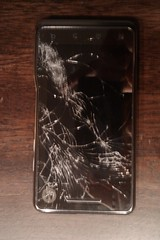 Motorola Milestone XT720 Displaybruch
