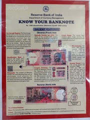 Know your Rs.1000 note (joegoaukextra3) Tags: indian goa security currency joegoauk