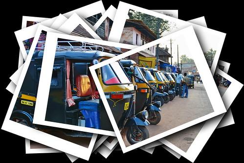 India - Karnataka - Gokarna - Auto Rickshaws - 1d