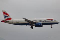 British Airways A320-232 G-EUYF (José M. Deza) Tags: 20170212 a320232 airbus bcn britishairways elprat geuyf lebl planespotting spotter aircraft