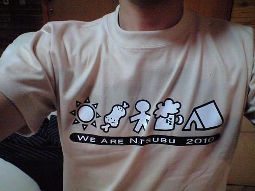 夏部、全員このTシャツで