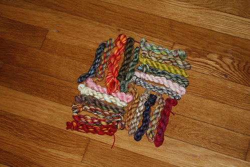 sock yarn package