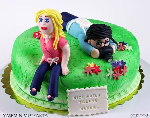 Fotoğrafçı ve Sevgilisi / Photographer's Cake