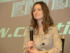 Summer Glau (vagueonthehow) Tags: serenity convention firefly summerglau creationentertainment terminatorthesarahconnorchronicles salutetofireflyandserenity