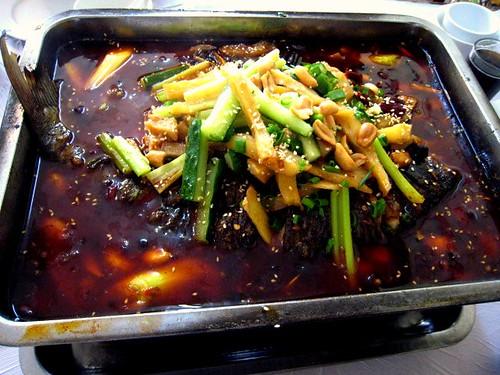 Grilled Fish Szechuan Style