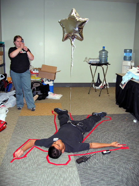 Otakon 2005 - Crime Scene (Click to enlarge)