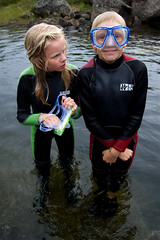 Scuba do (Wen Nag (aliasgrace)) Tags: family friends boy summer vacation 15fav holiday cold male water girl norway kids female swimming children play cousins freezing activity wetsuit suldal gullingen mosvatnet laurentze georgandre
