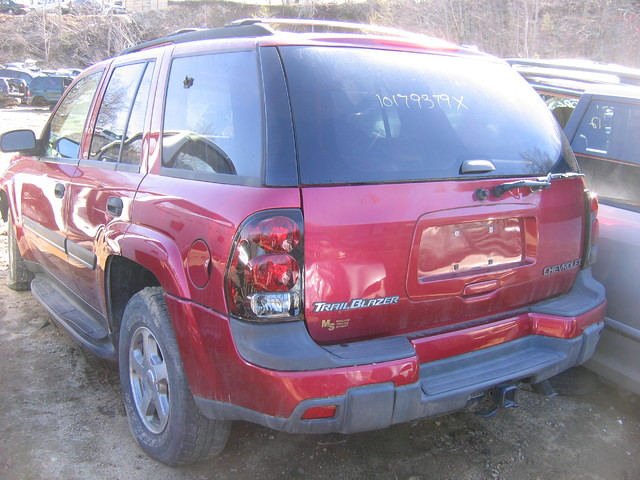 2002 chevrolet chevy 02 trailblazer