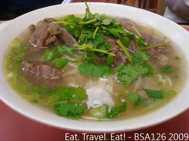 Clear Beef Noodle Soup