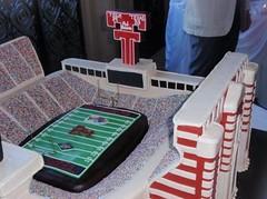 Jones Stadium Cake