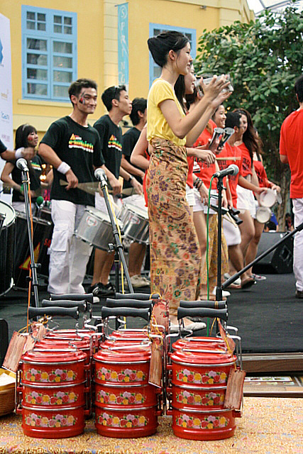 Samba Masala kicked off the launch of the Singapore Food Festival 2009