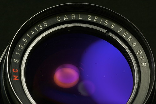 CARL ZEISS JENA DDR MC S 1:3.5 F=135