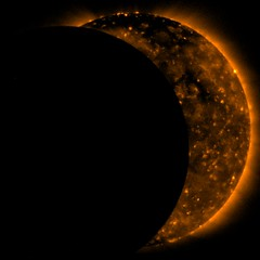 Sun Eclipse 2009 (NASA, Hinode, 7/22/09)