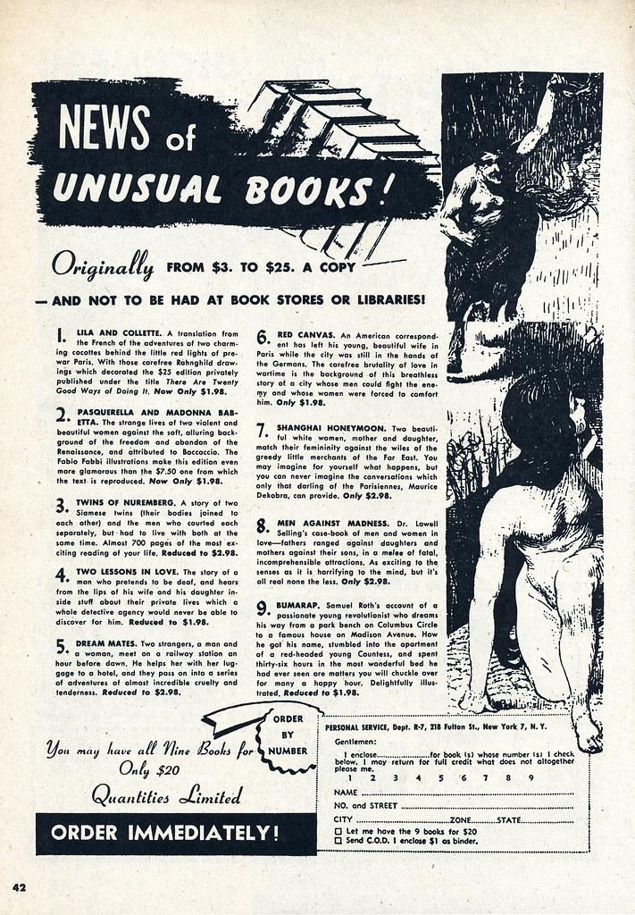 1950 adult magazines