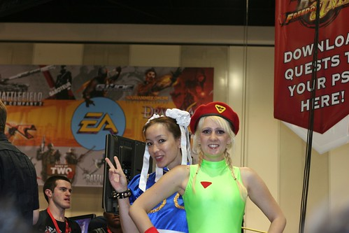 Chun Li and Cammy