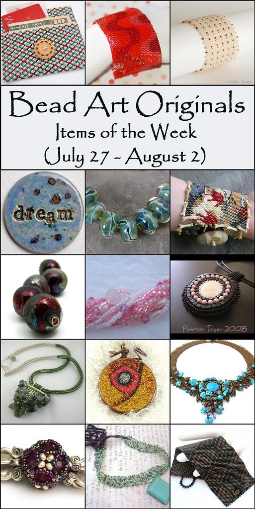 Bead Art Originals - Items of the Week (7/27-8/2)