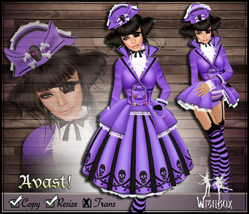 Avast! Pirate Lolita (purple)