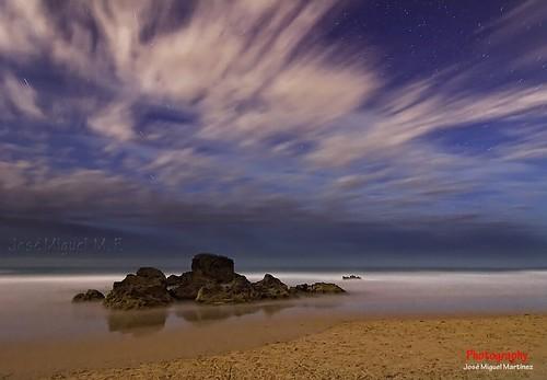 Playa de Canallave (Nocturna)