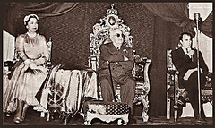Sultan Mohamed Shah III - Aga Khan (1885-1957) In Cairo (Tulipe Noire) Tags: africa hotel king jubilee ceremony egypt middleeast prince ali celebration cairo 1950s sultan khan platinum aga mohamed shah begum semiramis
