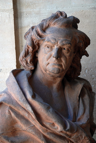 Terracotta bust at the Musee Carnavalet